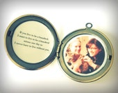 Custom Locket Personalize Quote Jewelry Photograph Family Lockets Quotes Keepsake Gifts Gift Customize Pictures Photo Jewellery Necklaces