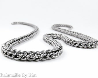 Chainmaille Necklace - Full Persian - Micro Maille
