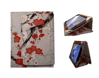 IPad Air 2 Cover, iPad Cover Hardcover, iPad Case, iPad Mini Cover, iPad Air Case, iPad 2, iPad 3, iPad 4,  Cherry Blossoms Golden Garden