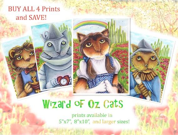 Wizard of Oz Four Print Special