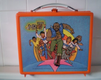 Vintage 1984 Mr. T lunch box Aladdin