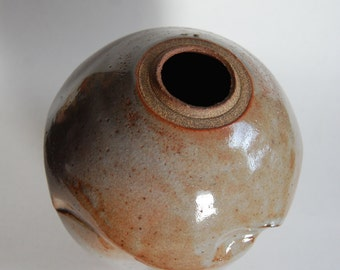 Vintage Pottery Vase, Hand Crafted
