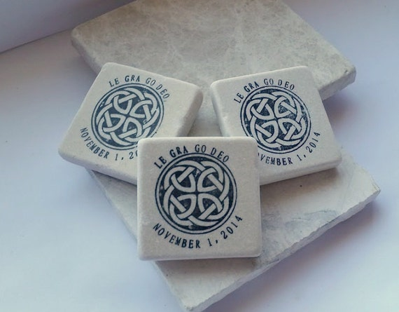 Le Gra Go Deo Celtic Knot Wedding Favors