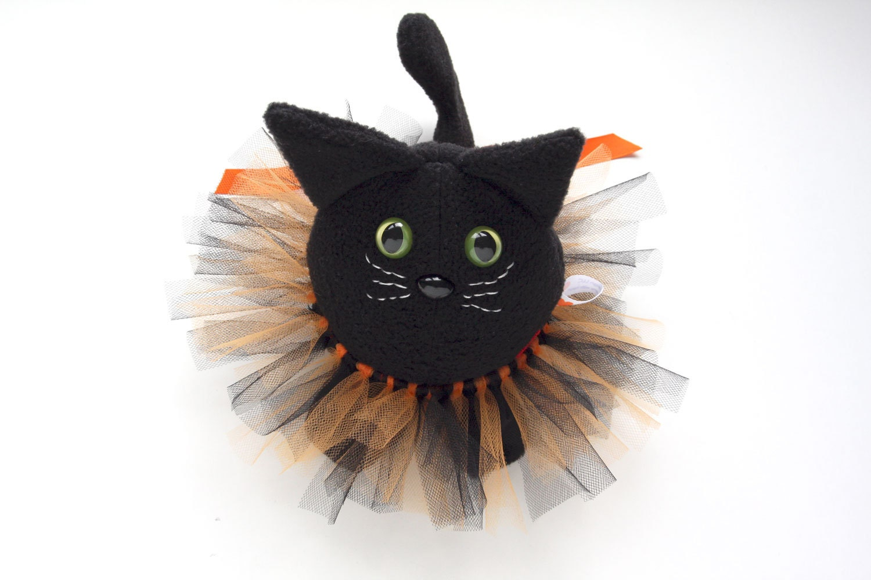 salem the halloween black cat stuffed animal by cmhdesign. Black Bedroom Furniture Sets. Home Design Ideas
