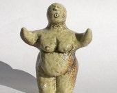Small Soda Fired Kefi Goddess