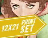 Food Porn 12x21 Print Set #2