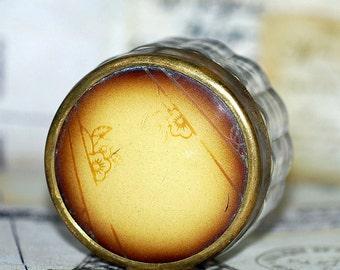 vintage makeup jar...   Home Decor...  Nov K