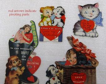 Vintage 1940's Valentines