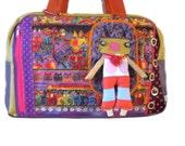 Bag molly creative bag unique bag n28 cats  bag  laurel burch