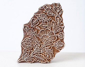Sale Hand carved wood stamp 298
