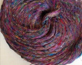 Pulled Silk Fiber - Carded - 500 GRAMS - Very Soft - Sliver Form  Spin your own yarn