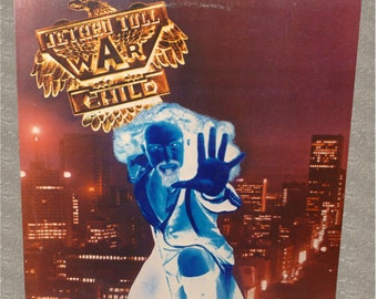 Jethro Tull, War Child, vintage Record Album, vinyl album,vintage album,vintage rock music,Australia,Chrysalis Records,Cover Art,collectible