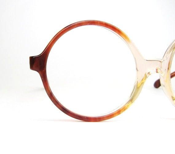 Vintage Eyeglass Frames Etsy : Vintage Round Glasses Eyeglasses or by Vintage50sEyewear ...