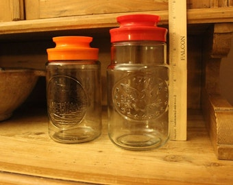Anchor Hocking Vintage Canisters