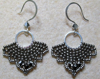 PDF Fly by Night Earrings Tutorial (INSTANT DOWNLOAD)