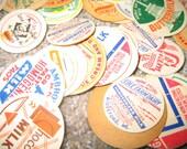 Vintage Milk Caps, Assortment of 300+ Random Caps for ZoeAmaris
