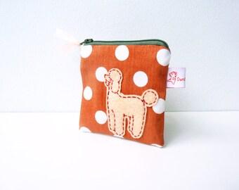 Dog Coin Purse, Coin Purse, Zipper Pouch, Dog Pouch, Pouch, Dog Wallet, Small Pouch, Change Purse - Dog Lover Gift
