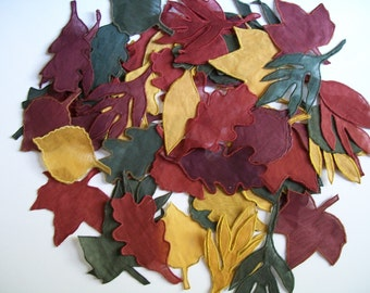 Vintage Autumn Leaves Leaf Appliques Fall Decorating Quilting Sewing Home Decor