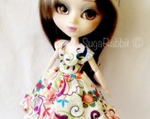 Funky Flowers Party Dress