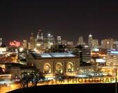 Kansas City Skyline - Union Station - Missouri - Kansas City Missouri - Kansas City Union Station - Fine Art Photography