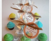 20 Cupcake Soap Party Shower Favors (Tags Included)