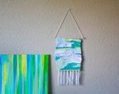 Sea Glass - Woven Wall Hanging