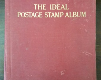 Vintage Ideal Postage Stamp Album from Rustysecrets