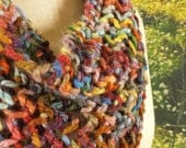 Stained Glass Lace Drape Cowl