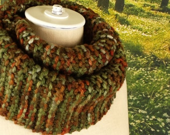 Autumn Forest Infinity Scarf