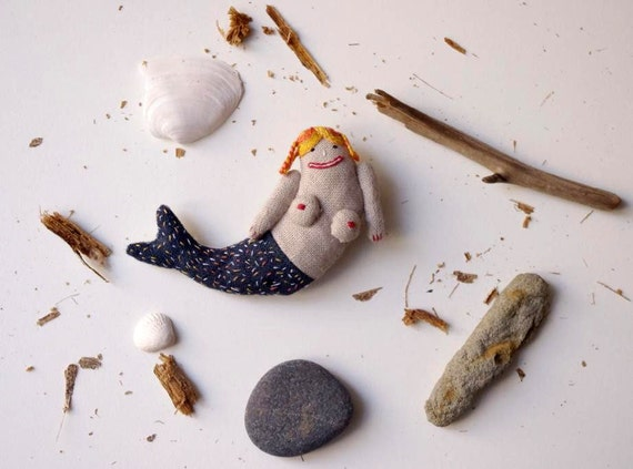 Have you ever seen a mermaid.  Brooch
