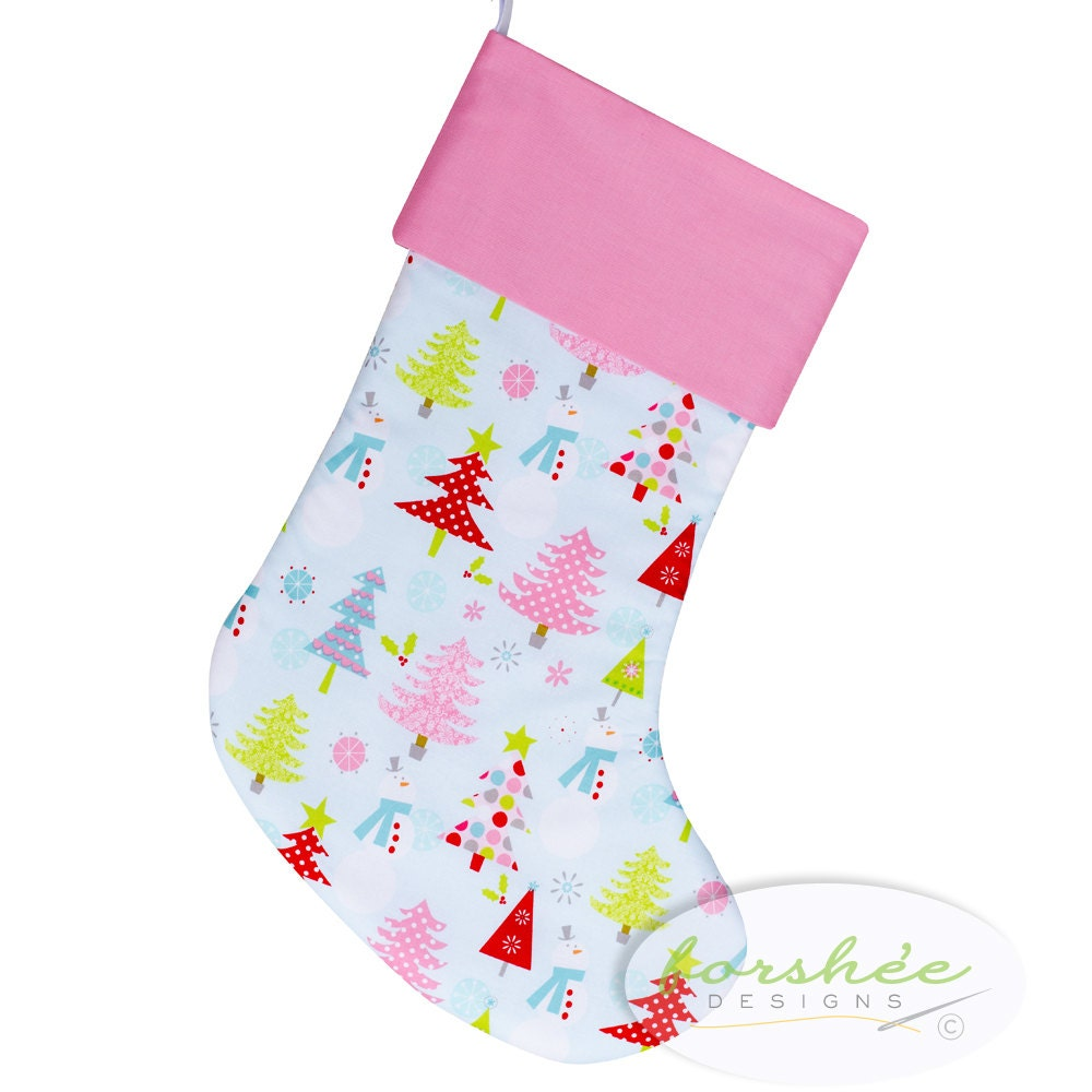 Baby Girl Christmas Stocking First Christmas Personalized