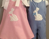 Matching Brother Sister Easter Outfits