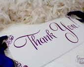 Thank You Photo Prop Sign