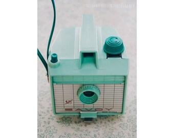 Mint Camera, 5x7 Print, Still Life Photography, Photographer, Mint Green, Vintage Camera Print, Dreamy Photography, Mint Savoy, Camera