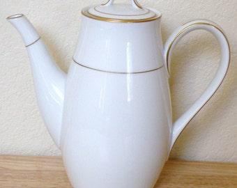 Noritake DAWN Coffee Pot and Lid