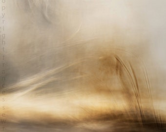 Fire and Water II - Fine Art Photograph - zen - poetic -  Abstract Landscape - Giclee