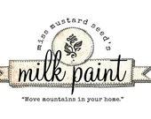 Sunday February 21st  Basic Miss Mustard Seed's Milk Paint  Workshop 9am-12 p