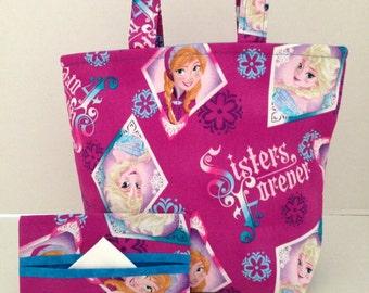 Sisters Forever/Frozen Mini Tote Bag