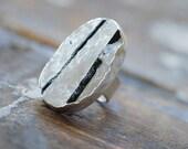 Frozen Tourmaline Ring