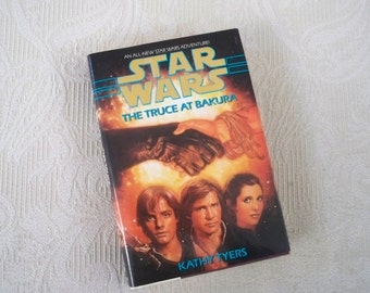 """Vintage Book """"Star Wars The Truce at Bakura"""" 1994 Hardcover Science Fiction"""