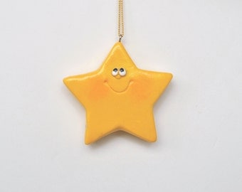 Personalized Star Christmas Ornament