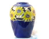 Simple Ceramic Sunflower Vase