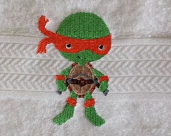 """Ninja Turtle """"Michelangelo"""" Towel"""
