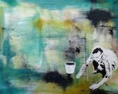 The Abundant Season pt.1 // Acrylic Painting // Original Artwork