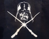 Darth Vader Light Saber shirt   Glows in the Dark Custom in your size