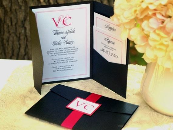 Love Series - Pocketfold Wedding Invitation
