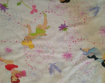 Here's TINKERBELL ...Toddler Bed  Flat Sheet