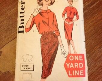 Butterick pattern 9475 vintage