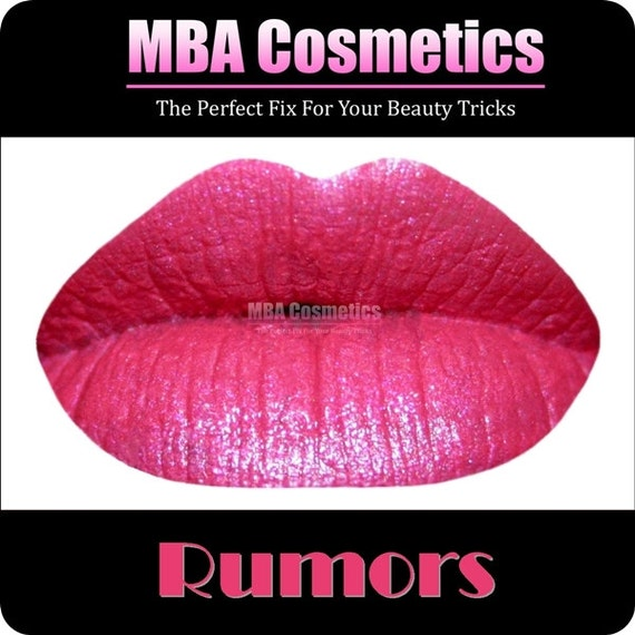 Bright Coral Pink Color Rich Lipstick-Rumors