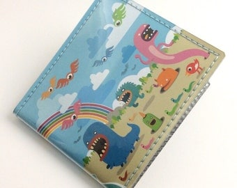 Rainbow Land wallet - Zeptonn for Tinymeat